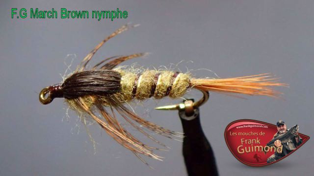 fg march brown nymphe